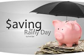 Save for rainy day